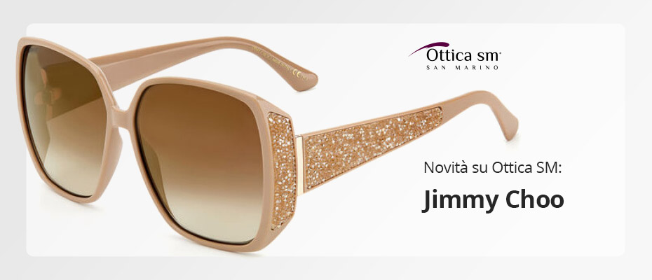 Jimmy Choo: Occhiali da sole e da vista
