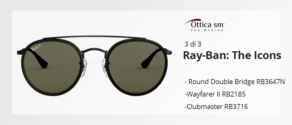 [Ray-Ban Icons #3] Gli occhiali da sole must have