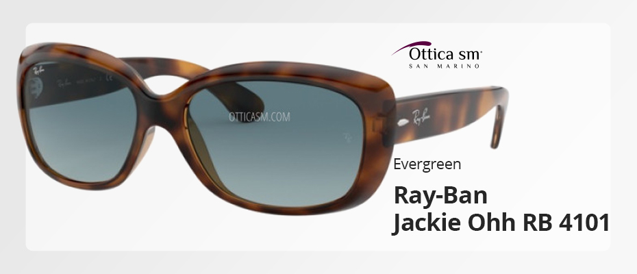[Evergreen] Occhiali da sole Ray-Ban Jackie Ohh RB 4101