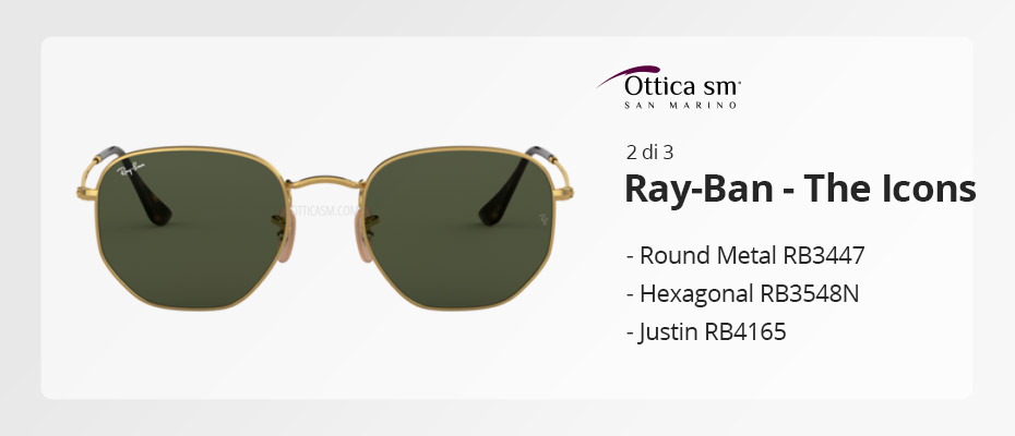 [Ray-Ban Icons #2] Gli occhiali da sole must have