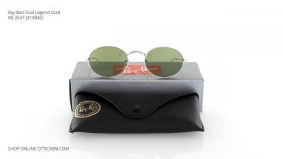 Ray-Ban Oval Legend Gold RB 3547 (91984E)
