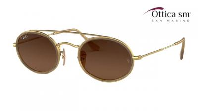 Ray-Ban Oval Double Bridge RB 3847N (912443)