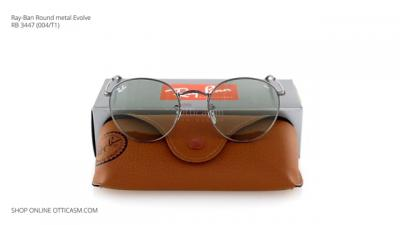 Ray-Ban Round metal Evolve RB 3447 (004/T1)