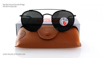 Ray-Ban Round Double Bridge RB 3647N (002/58)