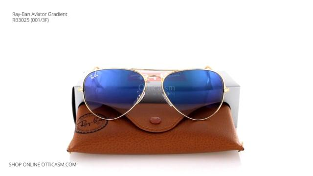 Ray-Ban Aviator Gradient RB 3025 (001/3F)