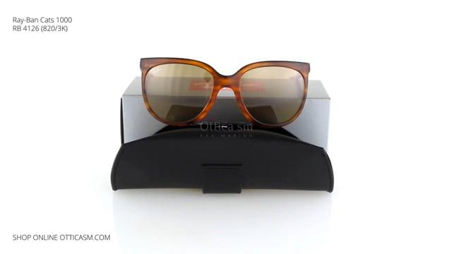 Ray-Ban Cats 1000 RB 4126 (820/3K)