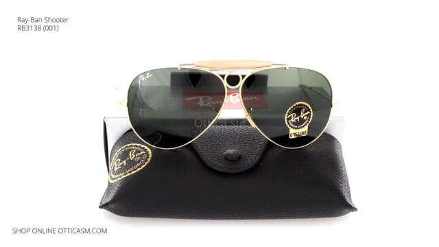 Ray-Ban Shooter RB3138 (001)