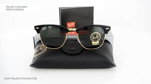 ray ban rb 3016 clubmaster w0365