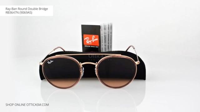 Ray-Ban Round Double Bridge RB3647N (9069A5)