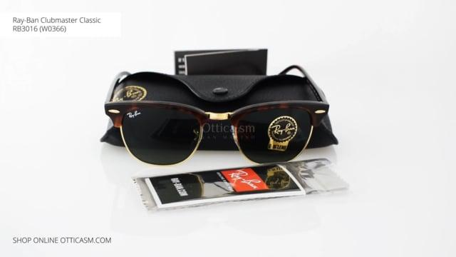 Ray-Ban Clubmaster Classic RB 3016 (W0366)