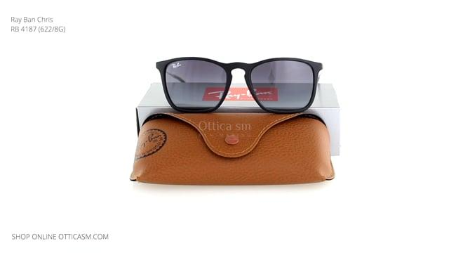 Ray Ban Chris RB 4187 (622/8G)