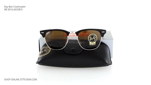 Ray-Ban Clubmaster RB 3016 (W3387)