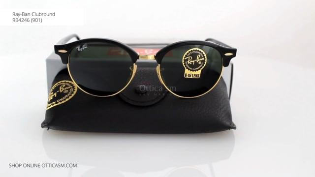Ray-Ban Clubround RB4246 (901)