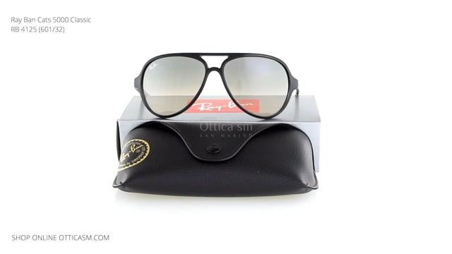 Ray Ban Cats 5000 Classic RB 4125 (601/32)