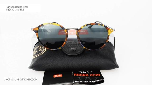 Ray-Ban Round Fleck RB2447 (1158R5)