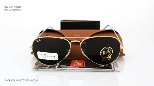 ca2a7a783 Sunglasses Ray Ban Aviator Classic RB 3025 (L0205) 58mm - Free ...