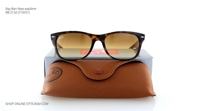Ray-Ban New wayfarer RB 2132 (710/51)