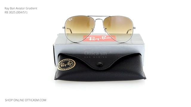 Ray Ban Aviator Gradient RB 3025 (004/51)