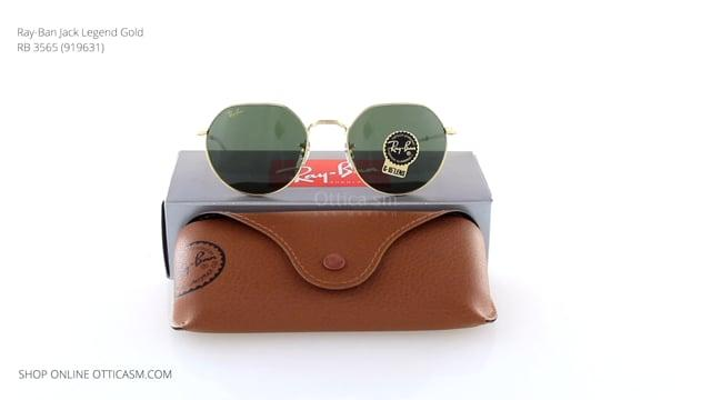Ray-Ban Jack Legend Gold RB 3565 (919631)