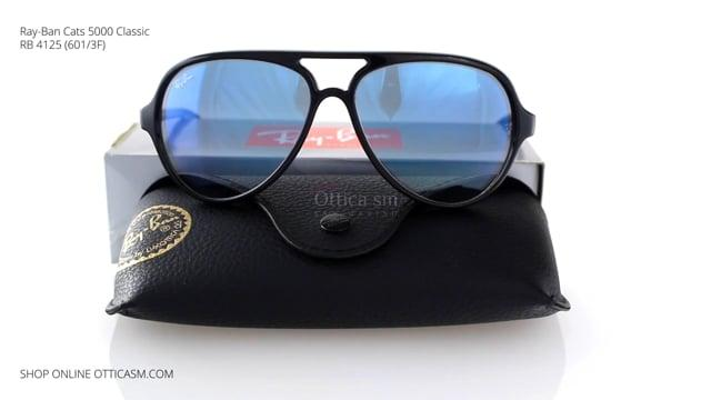 Ray-Ban Cats 5000 Classic RB 4125 (601/3F)