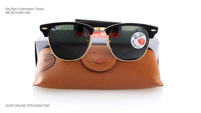 Ray-Ban Clubmaster Classic RB 3016 (901/58)