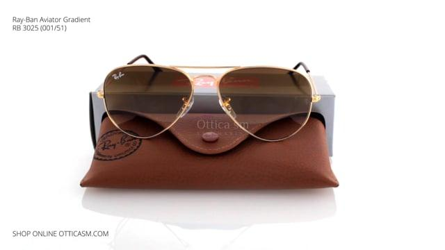 Ray-Ban Aviator Gradient RB 3025 (001/51)