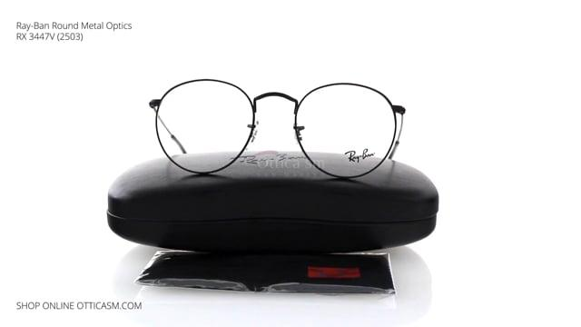 Ray-Ban Round Metal Optics RX 3447V (2503)
