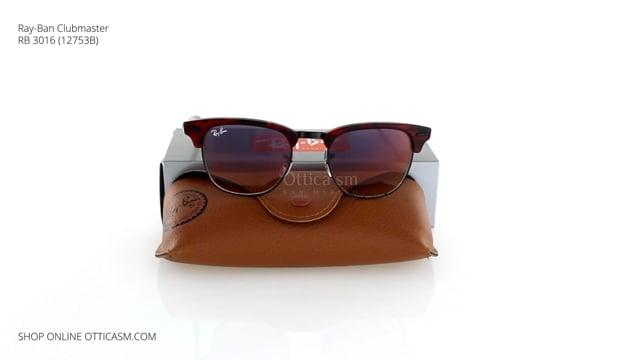 Ray-Ban Clubmaster RB 3016 (12753B)
