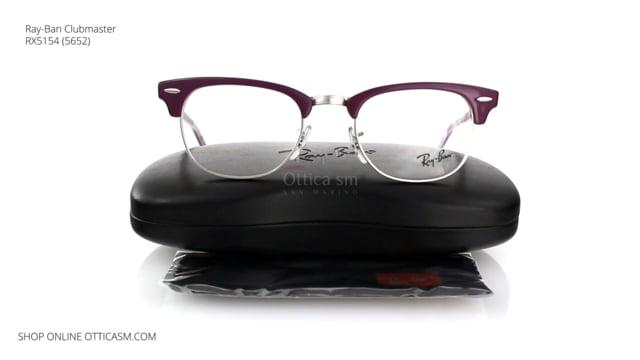 Ray-Ban Clubmaster RX5154 (5652)