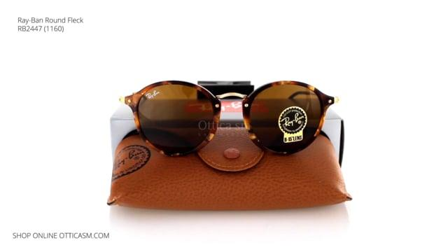 Ray-Ban Round Fleck RB 2447 (1160)