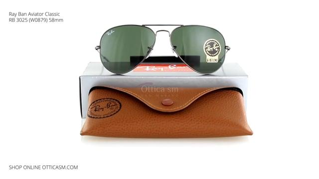 Ray-Ban Aviator Classic RB 3025 (W0879) 58mm