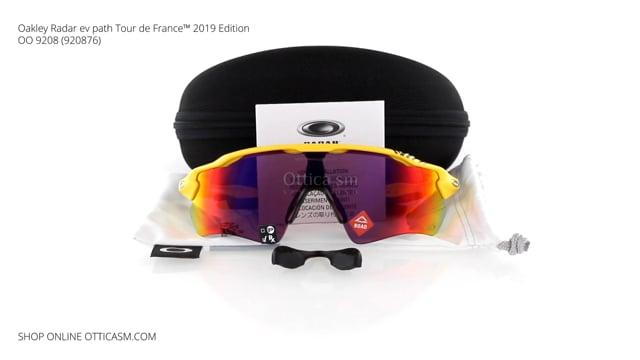Oakley Radar ev path Tour de France™ 2019 Edition OO 9208 (920876)