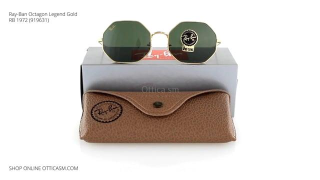Ray-Ban Octagon Legend Gold RB 1972 (919631)