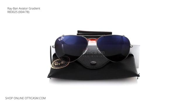 Ray-Ban Aviator Gradient RB 3025 (004/78)