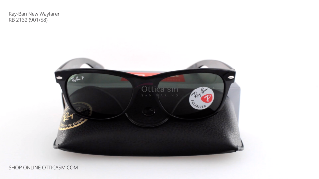 Ray-Ban New Wayfarer RB 2132 (901/58)